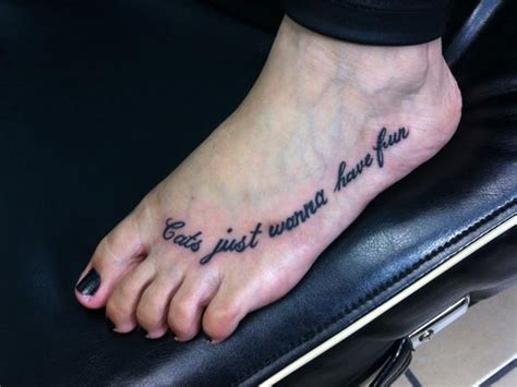 foot tattoo quotes pretty quotes quotesgram