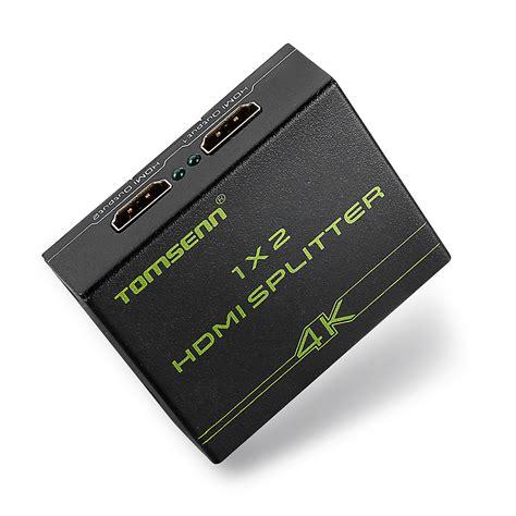 Hdmi Splitter 2port Howell Spliter 1 2 Port 1x2 1 2 Port hdmi 1 4v 2 port hdmi splitter 1x2 1 in 2 out hdmi distributor splitter for hdtv ps3 xbox in