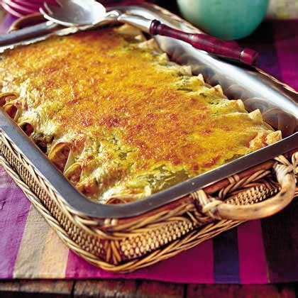Chicken Enchiladas Two Ways Beginner Expert by Chicken Enchiladas Recipe Myrecipes