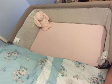 Beside The Bed Crib by Chicco Next 2 Me Bedside Crib Dove Grey For Sale In