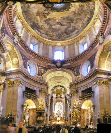 Baroque Interior File Peterskirche Vienna October 2007i Jpg Wikimedia Commons