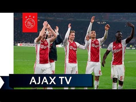 Kick Aja ajax tv kick nagenieten aja kop ajax showtime