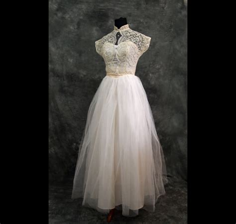Brautkleider 40er by Ivory Lace Vintage Wedding Dress Xs 40s
