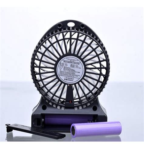 multifunction usb mini fan power bank 6000mah black jakartanotebook