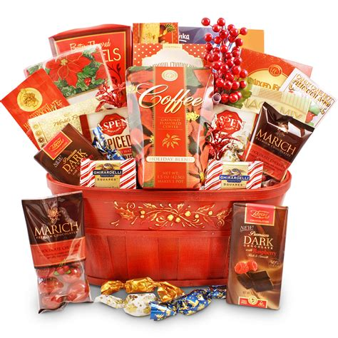 a cozy christmas wishgourmet gift basket store
