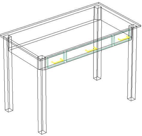 tavoli autocad blocchi autocad formato dwg o dxf tavolo 3d