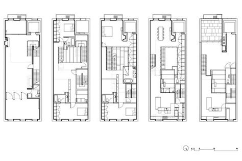 modern townhouse designs and floor plans the inverted warehouse townhouse of new york home design