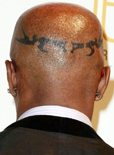 jamie foxx head tattoos photos foxx meaning