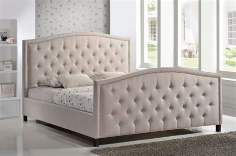 tufted headboard footboard fb1519 upholstered bed frame bedroom furniture with tufted