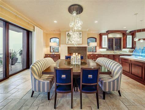 carlsbad california modern tropical dining room
