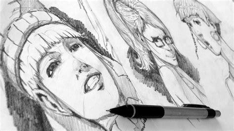 Imagenes Realistas Anime | como dibujar gestos expresiones anime y realista youtube