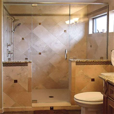 replacing a bathtub with a walk in shower tiled showers lakeview tile bath