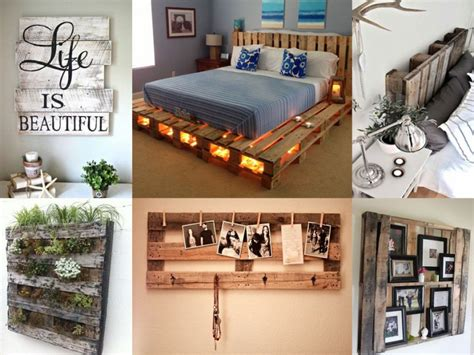 decoracion con palets de madera ideas para decorar tu casa con palets