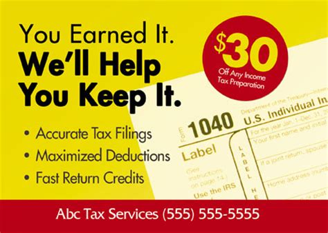 14 Marketing Tips To Attract More Tax Preparation And Accounting Clients Tax Preparation Postcards Templates