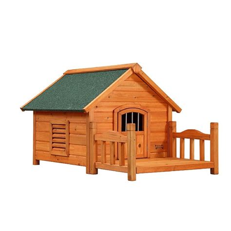 large dog house with porch porch pups large wood dog house wood dog houses pinterest