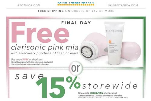clarisonic coupon mia 2