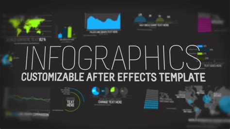 Infographics After Effects Template Youtube Bond After Effects Template