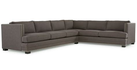 keaton sectional sofa keaton sectional mitchell gold bob williams