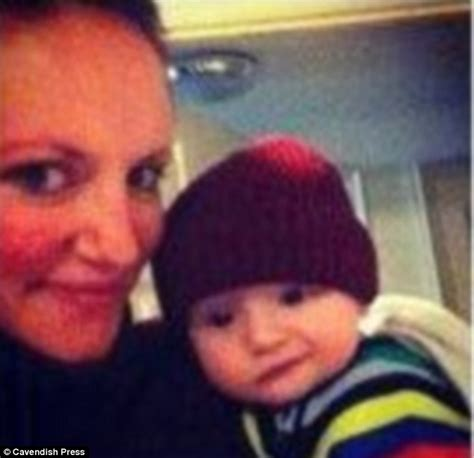 Cardy Angle pictured and toddler found dead in murder
