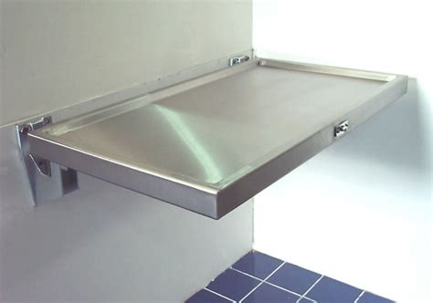 folding baby changing table stainless design services ltd baby changing tables