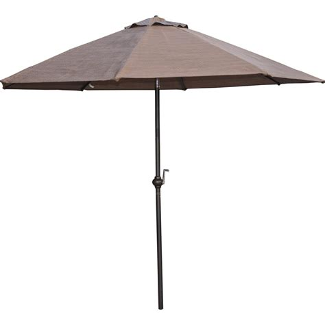 Small Patio Table With Umbrella Patio Logic Garden Point 9 Ft Market Umbrella Table Umbrellas Shades More Shop The Exchange