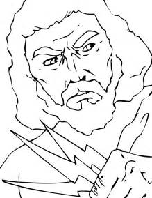 zeus greek god coloring pages newhairstylesformen2014 com
