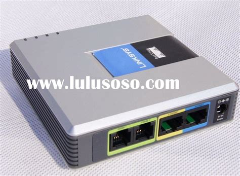 Router Voip unlocked linksys spa2102 voip phone adapter router 2fxs in