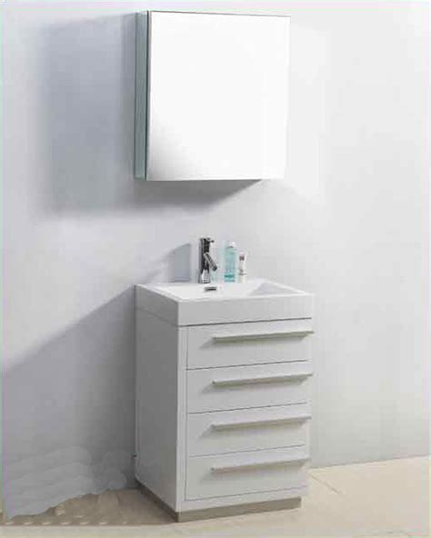 Bailey And Vanity by Virtu Usa 24 Quot Single Bathroom Vanity Bailey White Vu Js