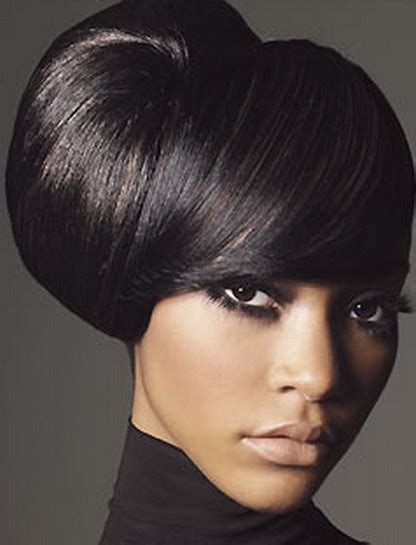 pics of black pretty big hair buns with added hair elegant african american updo hairstyles