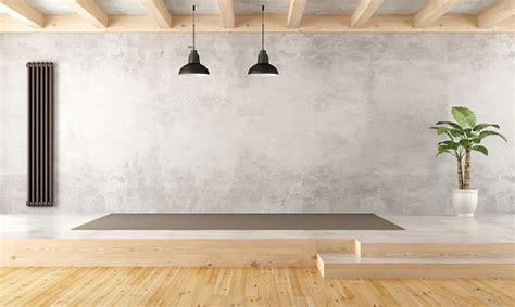 empty  levels living room stock photo  image