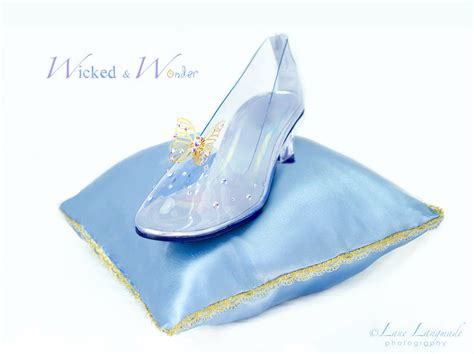 glass slipper new cinderella 2015 glass slippers for with