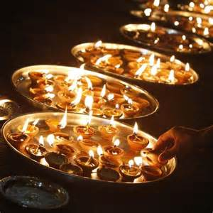 Lights That Shine On Ceiling by Diwali