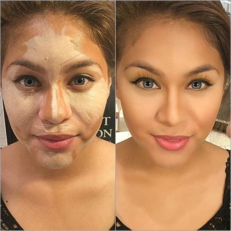 Contouring Light Skin by Contour And Highlight On Medium Skin Fara A S