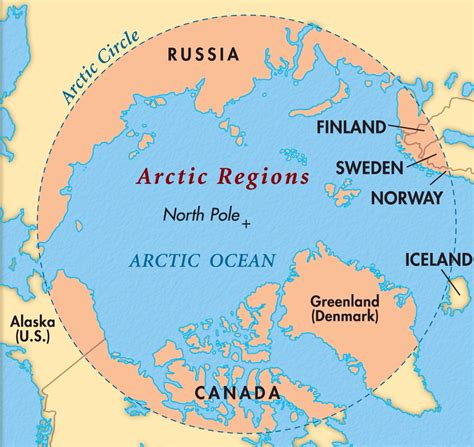 arctic map arctic map images