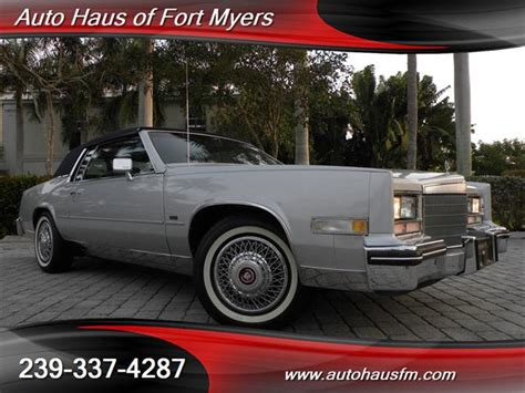 car haus 1985 cadillac eldorado ft myers fl for sale in fort myers