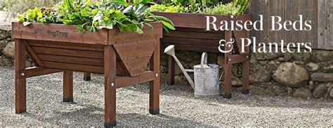 raised bed planter raised garden beds planter boxes williams sonoma