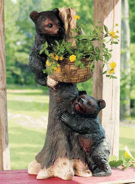 Bear & Cubs Planter/Basket