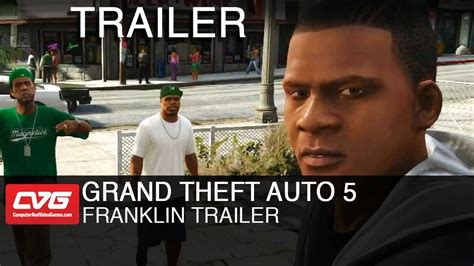 grand theft auto v trailer youtube grand theft auto v franklin trailer youtube