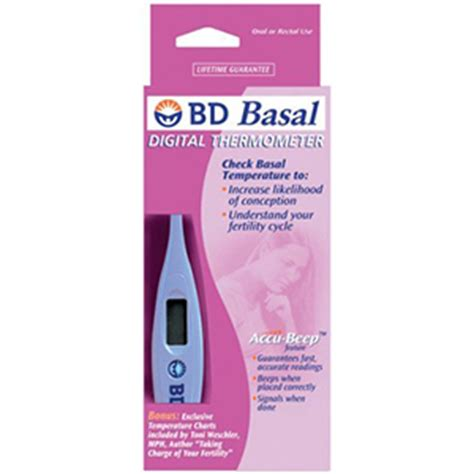 Termometer Basal bd digital basal thermometer 1 ea fsastore