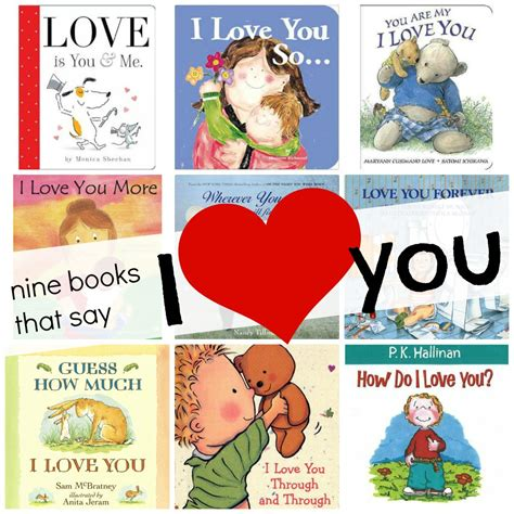 9 books that say quot i you quot i can teach my child