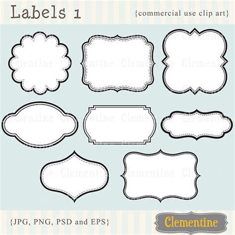 Printable Labels Clip Art Images Scrapbook Clip Art Photography Label Templates