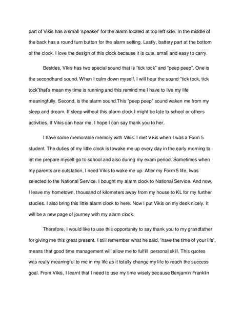 3 Wishes Essay by Essay Clock