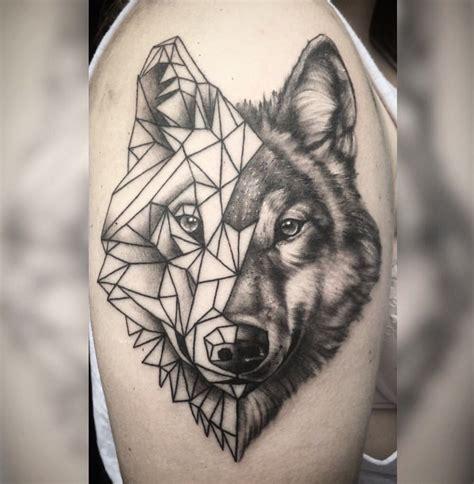 geometric wolf tattoo pics of my favorite geometric tattoos