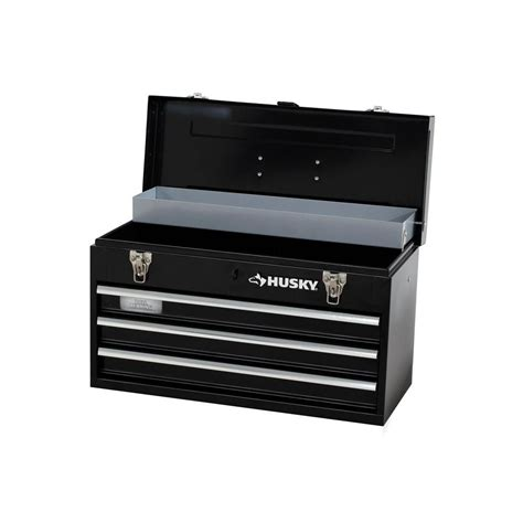Husky 8 Drawer Tool Chest by Husky 8 80 In 3 Drawer Portable Tool Box With Tray Tb