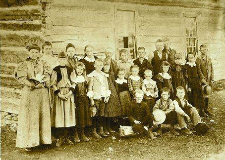 monforton school, montana, late 1800's american schools