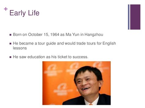 jack ma biography ppt jack ma powerpoint