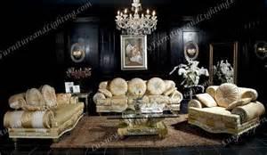 golden furnishers and decorators interior design dreams black wood living room decoration and golden furniture luxury design