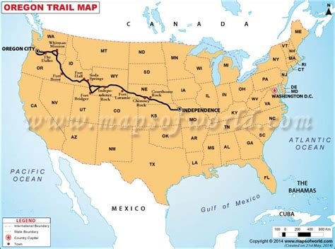 oregon usa map oregon trail map map of oregon trail