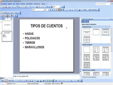 tutorial on powerpoint 2003 tutorial diapositivas power point 2003 youtube
