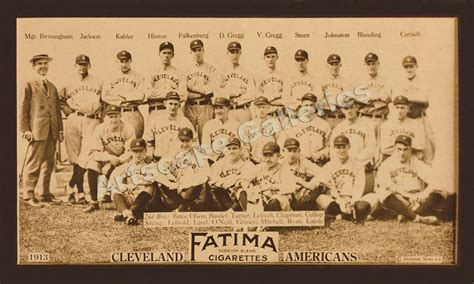 classic baseball team photo cleveland naps  ebay